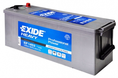 Аккумулятор 145 Exide Professional Power 6СТ-145 (EF1453)